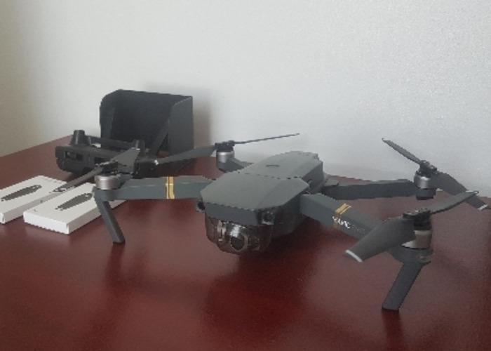 DJI Mavic Pro 4K  drone  - 1
