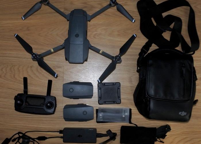 DJI Mavic Pro 4K Drone + Fly More Combo - 2