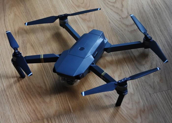 DJI Mavic Pro 4K Drone + Fly More Combo - 1