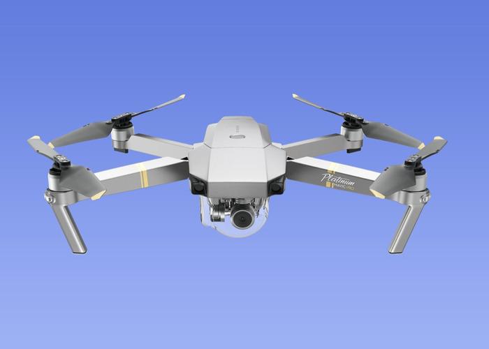 DJI Mavic Pro 4k Quadcopter Drone + Extras - 1