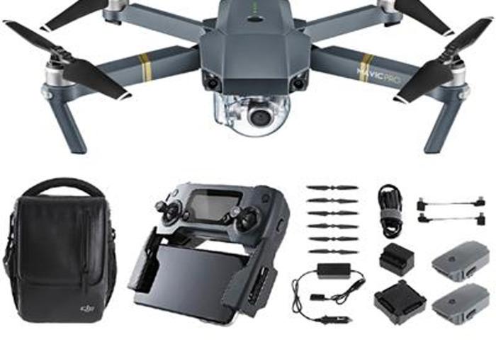 DJI Mavic Pro Drone + operator - 1