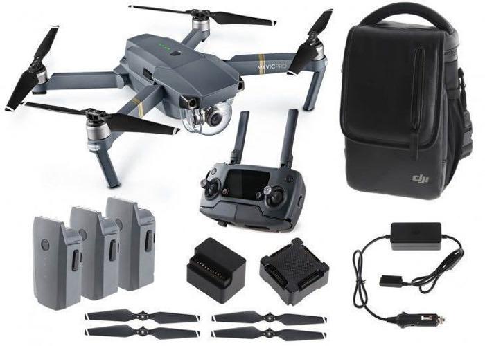 DJI Mavic Pro Drone with Three Batteries - 1