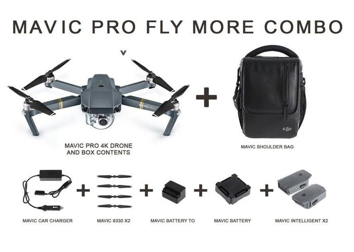 DJI Mavic Pro fly more bundle - 1