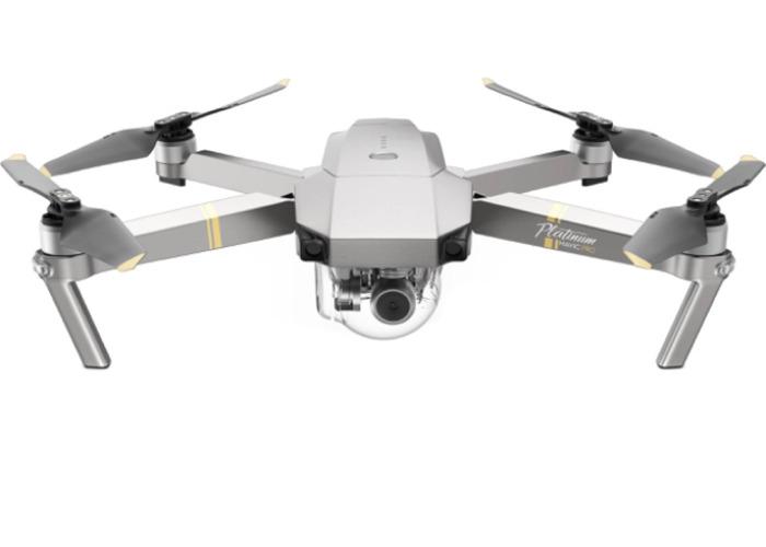 DJI Mavic Pro Platinum Drone with 3 Batteries - 1