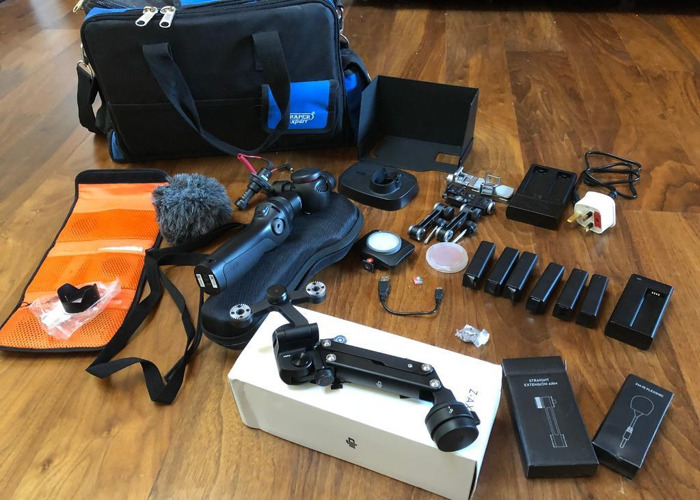 DJI osmo 4K stabilised camera with lots of extras - 1