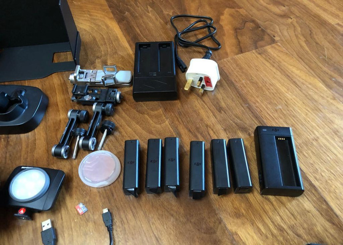 DJI osmo 4K stabilised camera with lots of extras - 2