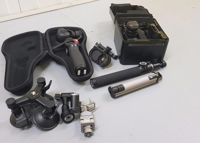 DJI Osmo and X5R - 1