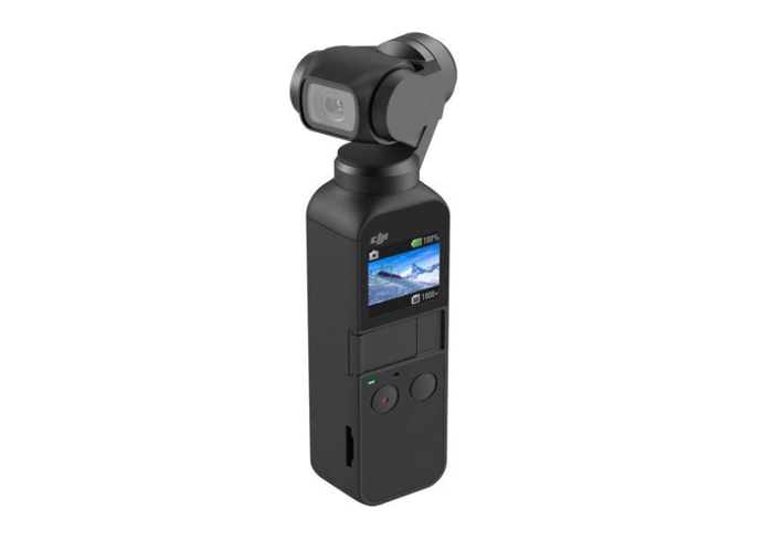 DJI Osmo Pocket 3-Axis Gimbal Stabiliser Handheld Camera - Black - 1