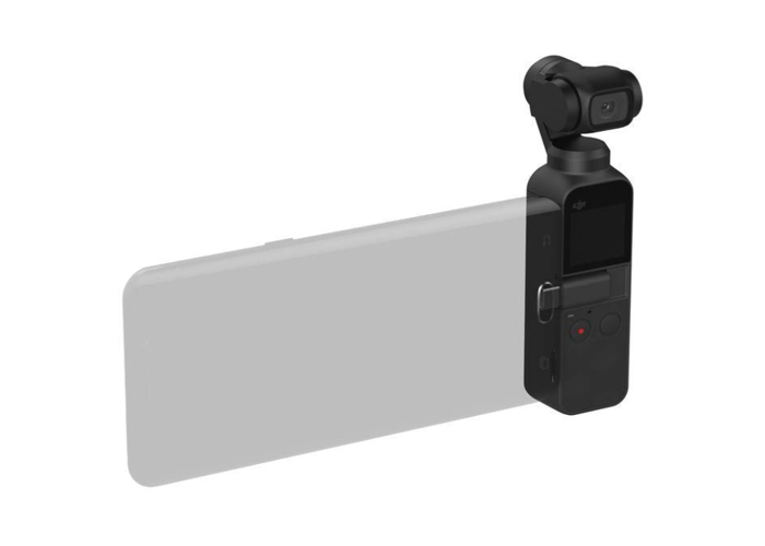 DJI Osmo Pocket 3-Axis Gimbal Stabiliser Handheld Camera - Black - 2