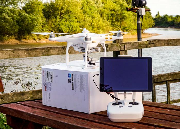 DJI Phantom 3 Professional Drone - 4K 25  - 1