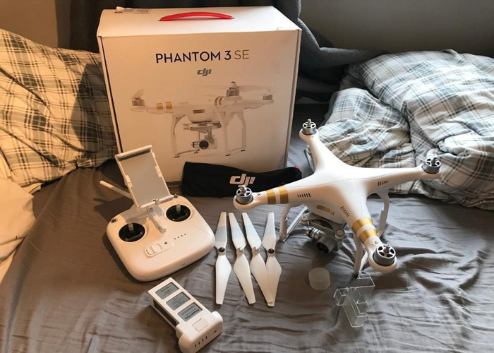Rent Dji Phantom 3 Se 4k Drone Fat Llama