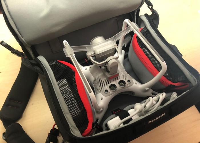 Drone DJI Phantom 4 Pro: paquete, mochila, tarjeta de memoria, etc. - 2