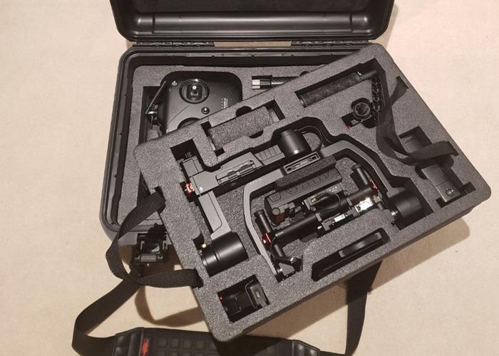 DJI Ronin M Gimbal + Thumb Control + Case + 3 Batteries - 2