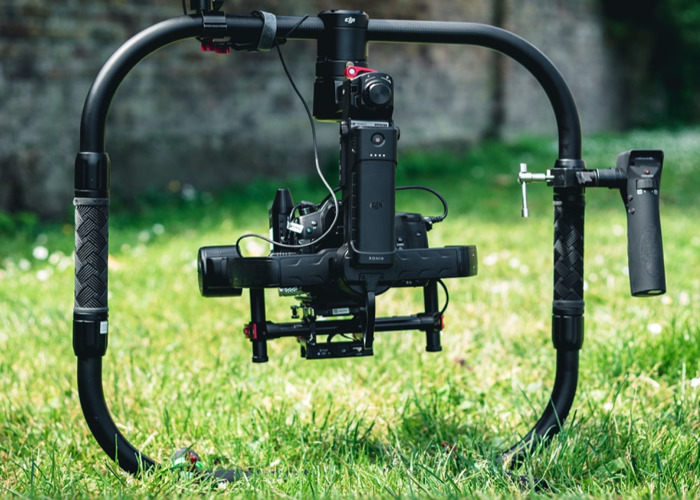 DJI RONIN M with GRIP + GH5 ready to shoot. - 1