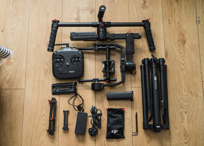 DJI Ronin MX - 3 axis gimbal w/ compact Lowepro carry backpack - 1