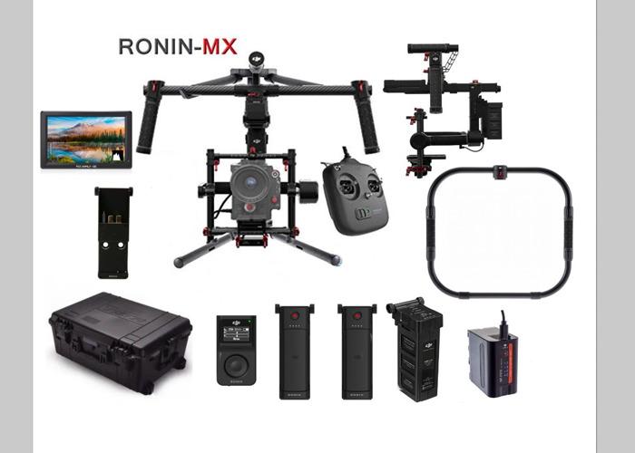 DJI Ronin MX + 3/4 Batteries + Thumb Controller + 4K Monitor + More  - 1