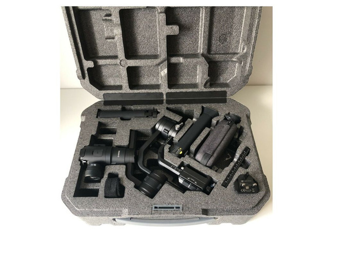 DJI Ronin S - 3-Axis Gimbal Stabilizer - Focus Control 3.6KG - 2