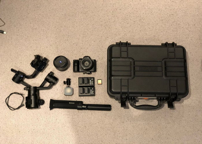 DJI Ronin S & Sony A7Rii System with Lenses - 2