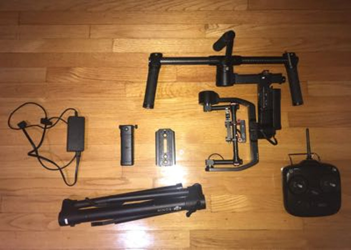 DJI Ronin-M 3-Axis Camera Gimbal - 1