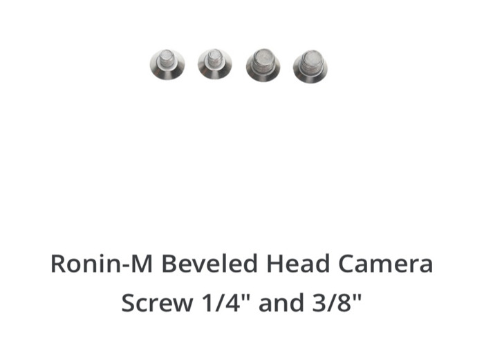 DJI Ronin-M Screws  - 1