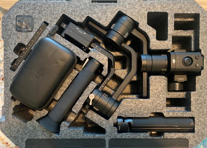 DJI Ronin-S 3-Axis Handheld Gimbal Stabilizer - 1