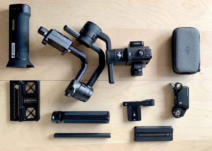 DJI RONIN-S Kit with Focus Motor - 1