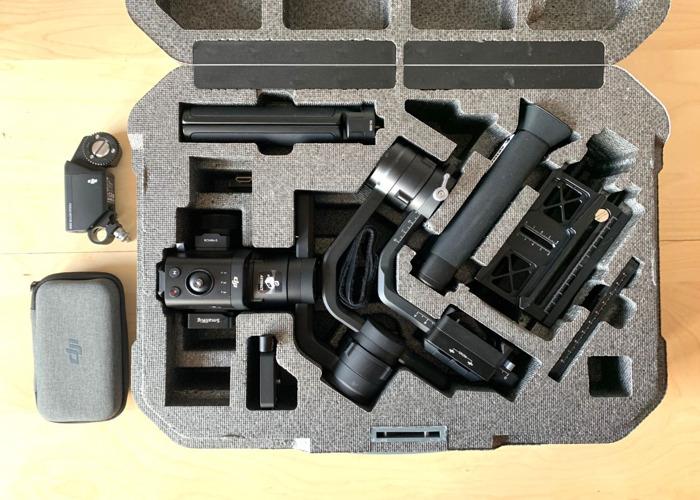 DJI RONIN-S Kit with Focus Motor - 2