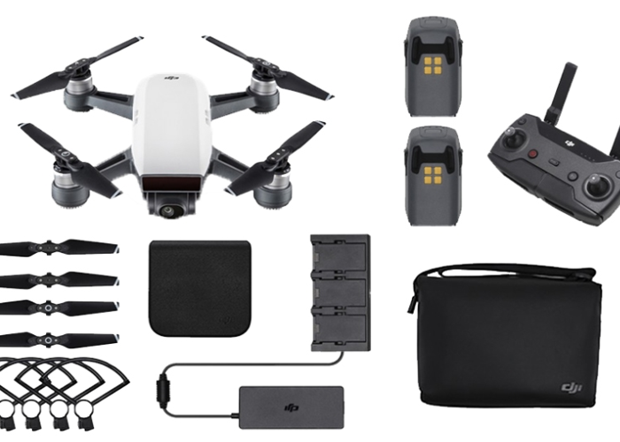 Rent DJI Spark Fly More Combo  Controller / 2 Batteries / SD Card in  Oakleigh South