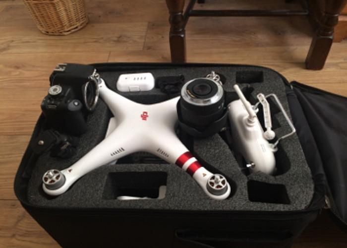 DJI Standard 3 Drone & Canon 500d - 2