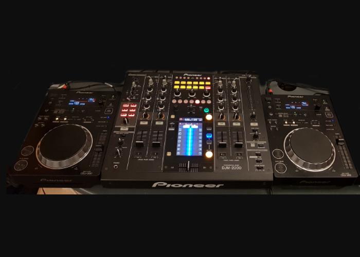 2 x CDJ 350 + DJM 2000 [PIONEER] - 1