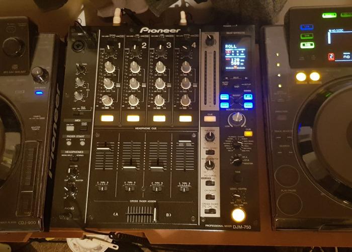 Djm 750k mixer - 1