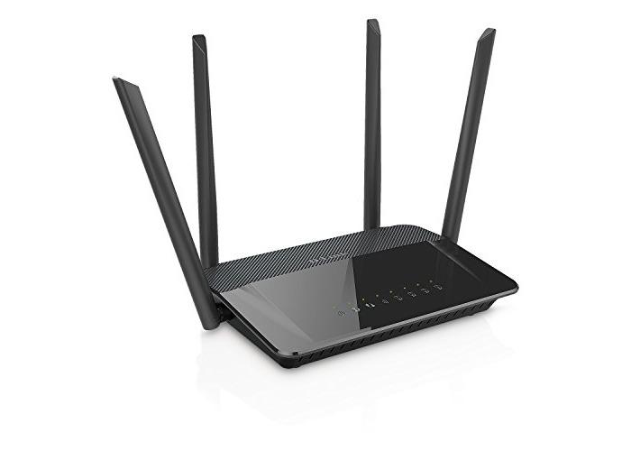 D-Link DIR-842 Wireless AC1200 Dual Band Gigabit Router with External Antenna - 1