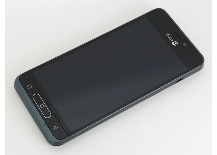 DORO 8035 16GB EXCELLENT CONDITION  4G MOBILE PHONE - BLUE - UNLOCKED - 1
