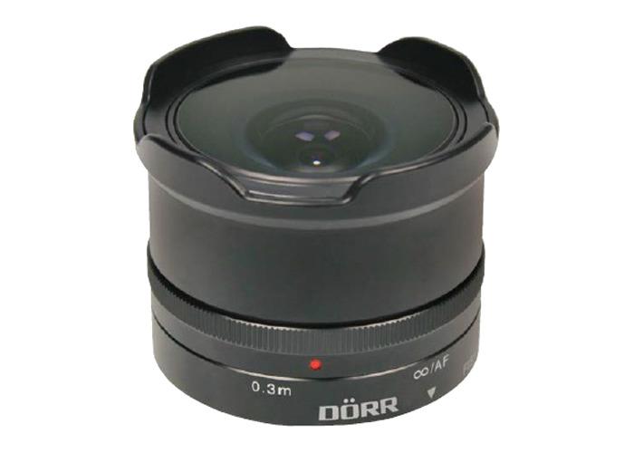 Dorr 12mm f7.4 Fisheye Wide Angle Lens Fuji X Fit - 1