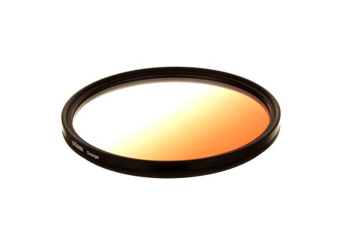 Dorr 49mm Orange Graduated Colour Filter - 1