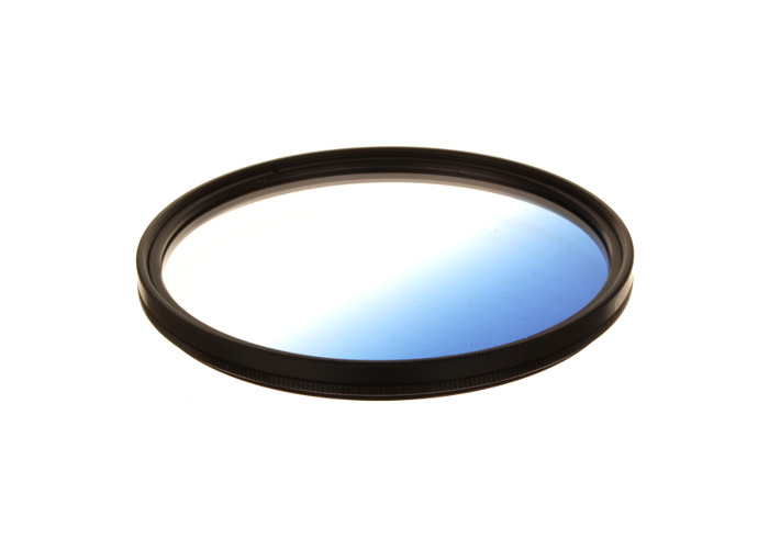 Dorr 55mm Blue Graduated Colour Filter - 1