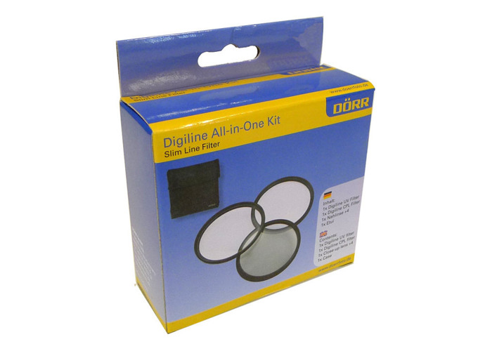 Dorr 72mm Digi Line Filter Kit (UV, Circular Polarizer and Close Up+4) - 1