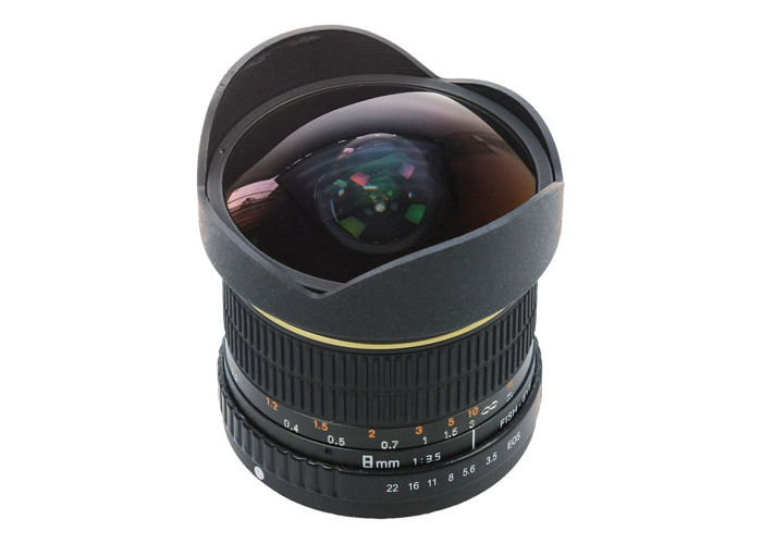 Dorr 8mm Fisheye Wide Angle Lens Canon Fit - 1