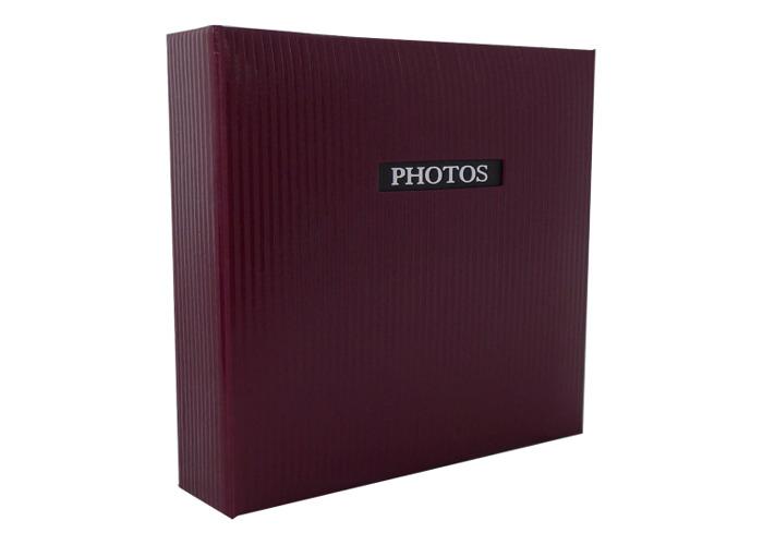 Dorr Elegance Red Traditional Photo Album 50 Side 11.5x12.5'' - 1