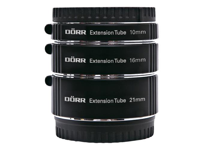 Dorr Extension Tube Kit (10, 16, 21mm) for Sony NEX E - 1