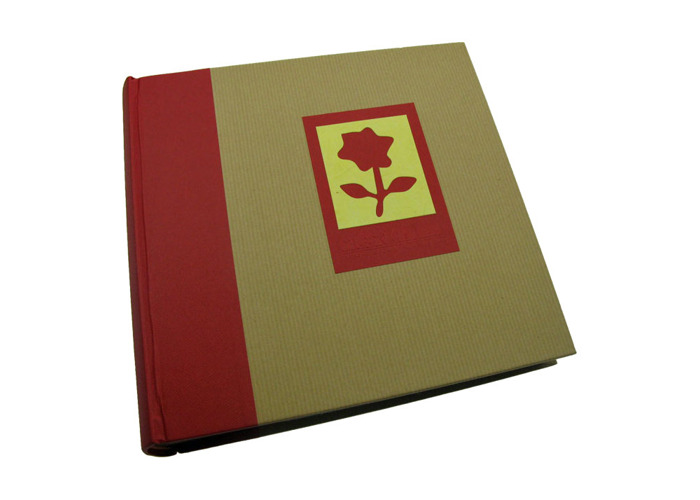 Dorr Green Earth Red Flower 6x4 Slip In Photo Album for 200 Photos - 1