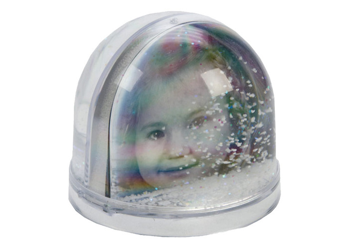 Dorr Snow Globe for Photo Big with Snow/Gliters - 1