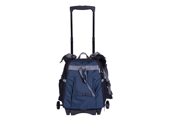 Dorr Trolley Backpack with Wheels Medium Blue - 1