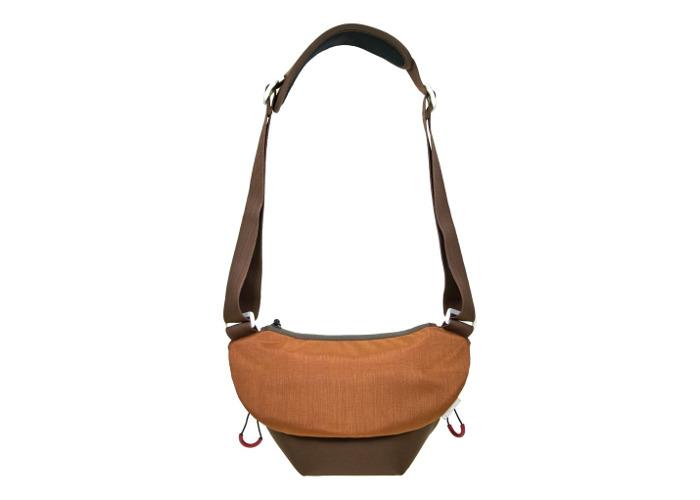 Dorr Urban Camera Shoulder Bag Small Brown/Orange - 1