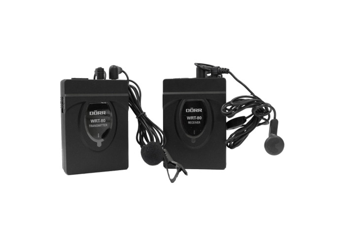 Dorr WRT-80 Wirelss Microphone Kit - 1