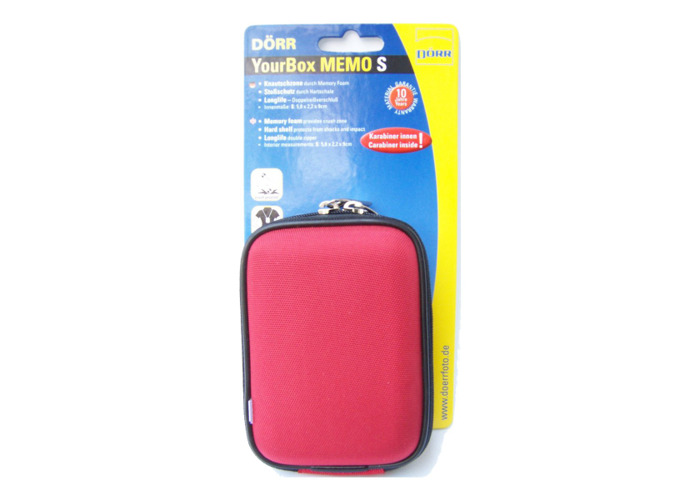 Dorr Yourbox Memo Hard Camera Case Small Red - 1