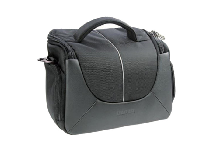 Dorr Yuma Photo Shoulder Bag Large Black/Silver - 1