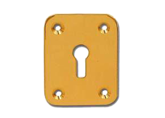 DORTREND 2151 Front Fix Escutcheon - PB - 1