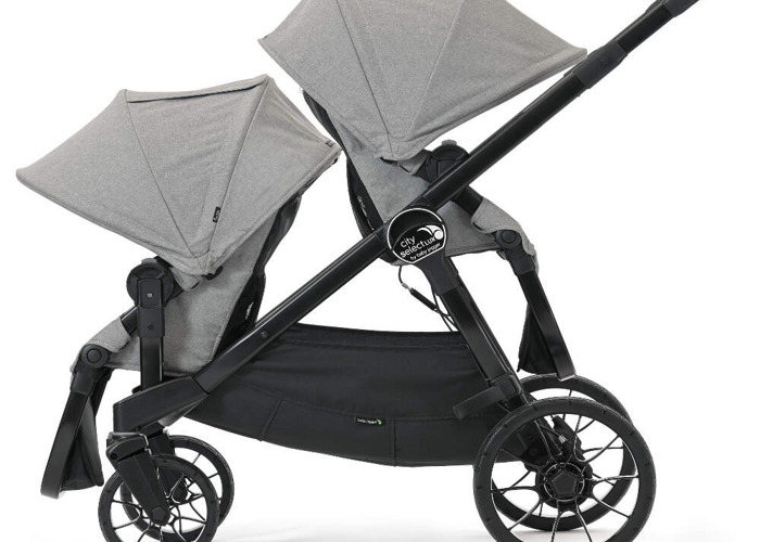 double buggy Baby Jogger City Select LUX Tandem Stroller - 3