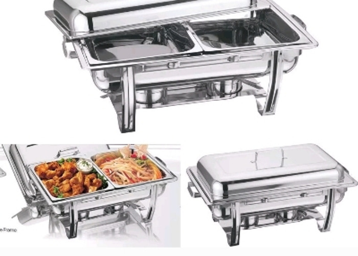 Double Compartment Chaffing dishes ×2 - 1